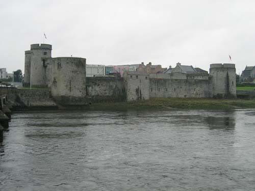 King John's Castle - Greenhills Hotel Limerick
